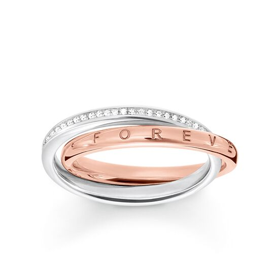 "ring ""Forever Together"" from the Glam & Soul collection in the THOMAS SABO online store"