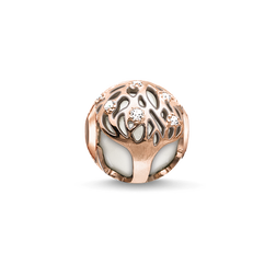 Bead arbre de vie blanc de la collection Karma Beads dans la boutique en ligne de THOMAS SABO