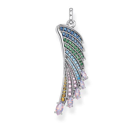 pendentif aile de colibri multicolore argent de la collection Glam & Soul dans la boutique en ligne de THOMAS SABO