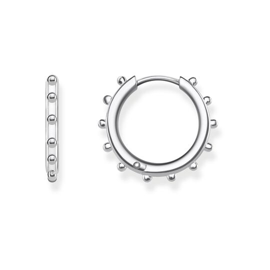 hoop earrings dots from the Glam & Soul collection in the THOMAS SABO online store