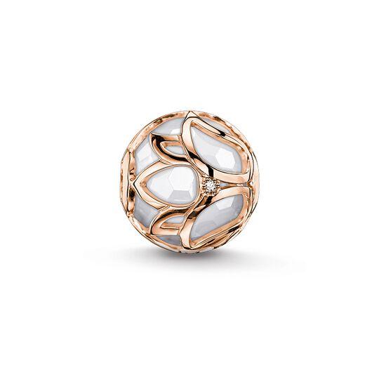 Bead flor de loto blanco de la colección Karma Beads en la tienda online de THOMAS SABO