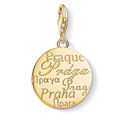 Charm pendant Prague from the Charm Club Collection collection in the THOMAS SABO online store