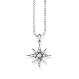 "necklace ""Royalty Star white"" from the Glam & Soul collection in the THOMAS SABO online store"