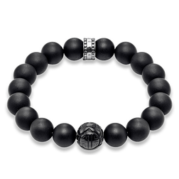 "bracelet ""obsidienne"" de la collection Rebel at heart dans la boutique en ligne de THOMAS SABO"