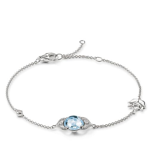 "bracelet ""throat chakra"" from the Chakras collection in the THOMAS SABO online store"