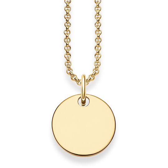 """Kette """"Coin"""" aus der Love Bridge Kollektion im Online Shop von THOMAS SABO"""