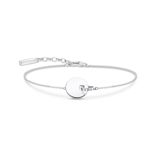 bracelet Together coin with silver-coloured ring from the  collection in the THOMAS SABO online store
