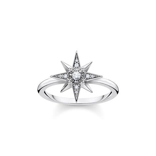 Anillo estrella plata de la colección  en la tienda online de THOMAS SABO