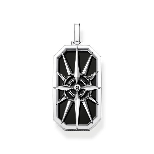 pendant compass star black from the  collection in the THOMAS SABO online store