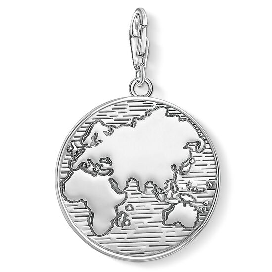 """Charm pendant """"disc world"""" from the  collection in the THOMAS SABO online store"""
