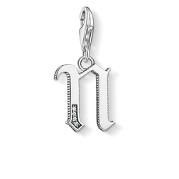 ciondolo Charm lettera N argentato from the  collection in the THOMAS SABO online store