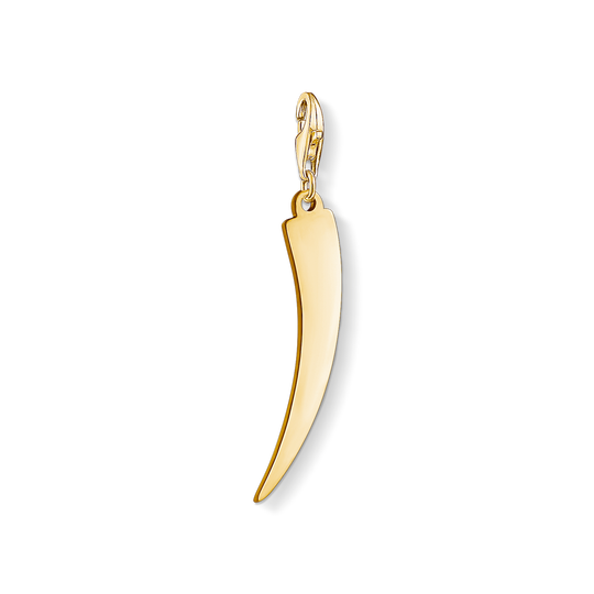 Charm pendant Golden tooth from the Charm Club collection in the THOMAS SABO online store