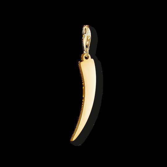 Charm-Anhänger goldener Zahn aus der Charm Club Kollektion im Online Shop von THOMAS SABO