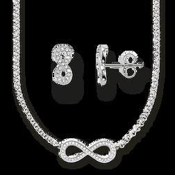 chaîne & clous d'oreille de la collection Glam & Soul dans la boutique en ligne de THOMAS SABO