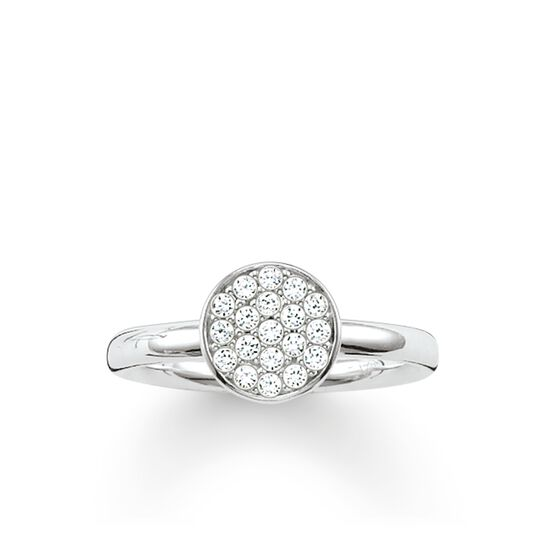 Solitaire Ring Sparkling Circles from the Glam & Soul collection in the THOMAS SABO online store