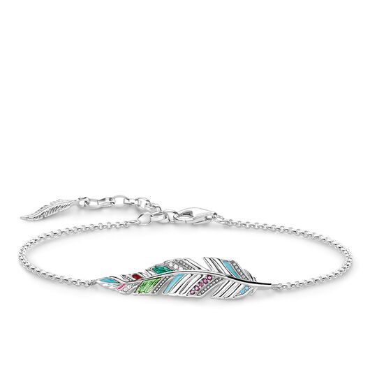 """bracelet """"feather"""" from the Glam & Soul collection in the THOMAS SABO online store"""