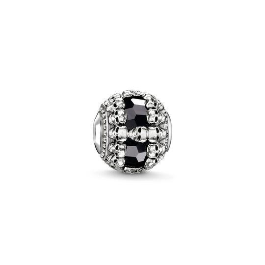 Bead calaveras negras de la colección Karma Beads en la tienda online de THOMAS SABO