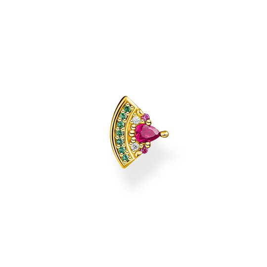 Single ear stud watermelon gold from the Charming Collection collection in the THOMAS SABO online store