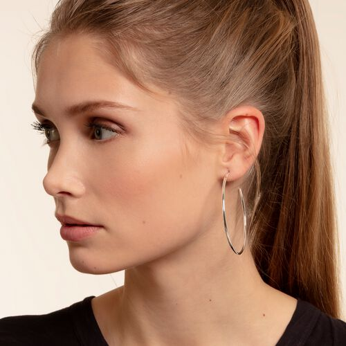 "hoop earrings ""classic large"" from the Glam & Soul collection in the THOMAS SABO online store"