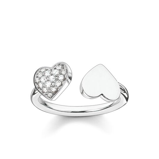"""ring """"hearts pavé"""" from the Glam & Soul collection in the THOMAS SABO online store"""