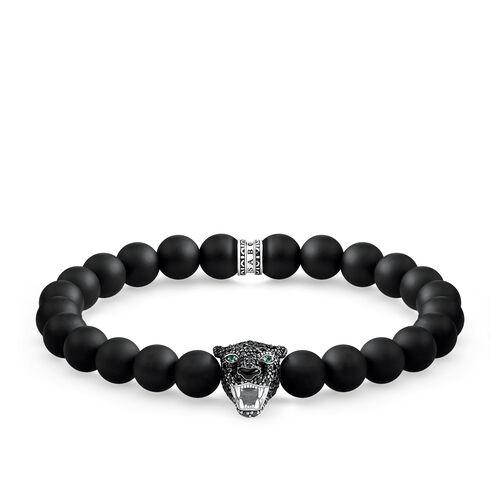 """Armband """"Black Cat Onyx"""" aus der Rebel at heart Kollektion im Online Shop von THOMAS SABO"""