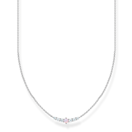 Necklace vintage shimmering pink opal colour effect from the Charming Collection collection in the THOMAS SABO online store
