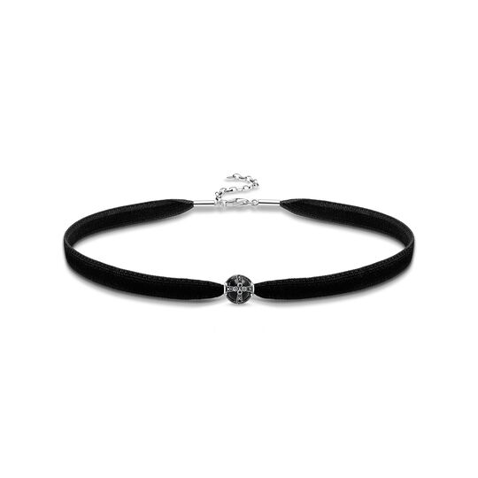 Choker royalty black from the  collection in the THOMAS SABO online store