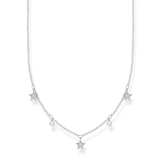 Necklace stars silver from the Charming Collection collection in the THOMAS SABO online store