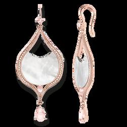 """boucles d'oreilles """"lotus rose"""" de la collection Glam & Soul dans la boutique en ligne de THOMAS SABO"""