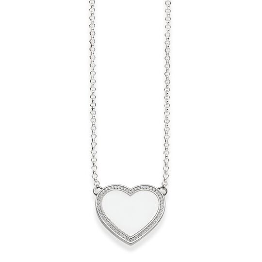 "necklace ""heart pavé"" from the Glam & Soul collection in the THOMAS SABO online store"