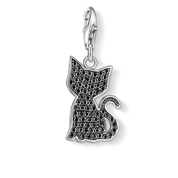 pendentif Charm chat noir de la collection Charm Club Collection dans la boutique en ligne de THOMAS SABO