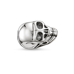 Bead skull small from the Karma Beads collection in the THOMAS SABO online store