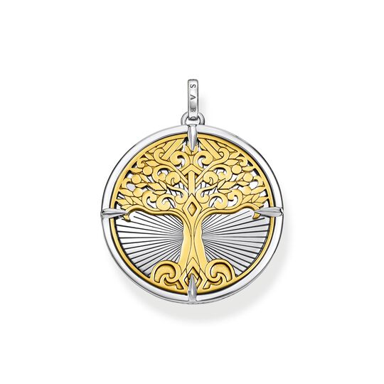 pendant Tree of Love gold from the  collection in the THOMAS SABO online store