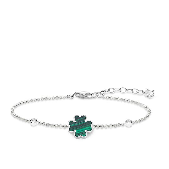 """bracelet """"cloverleaf"""" from the Glam & Soul collection in the THOMAS SABO online store"""