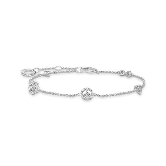 Bracelet vec symboles argent de la collection Charming Collection dans la boutique en ligne de THOMAS SABO