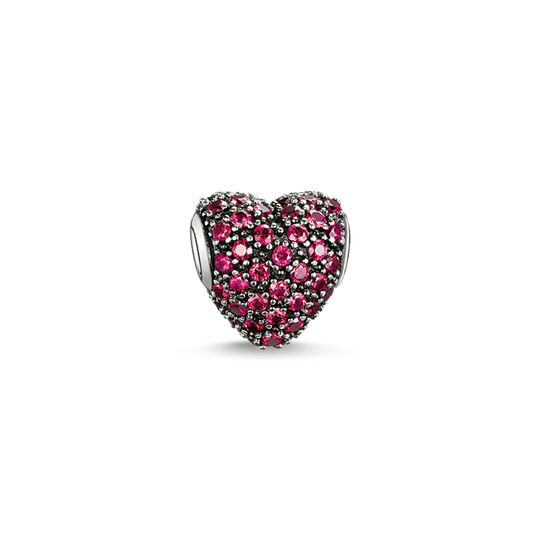 Bead red pavé heart from the Karma Beads collection in the THOMAS SABO online store