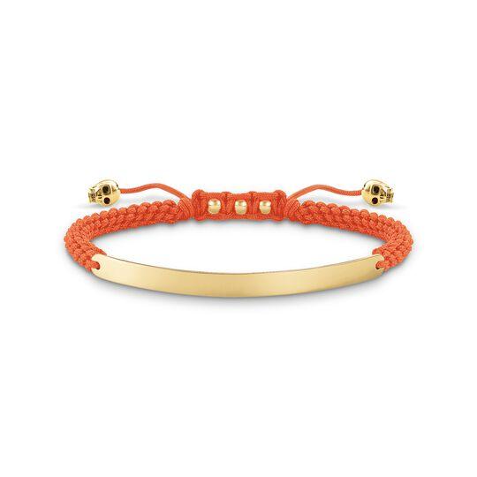 bracelet orange skull from the  collection in the THOMAS SABO online store