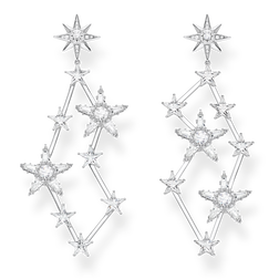 earrings stars silver from the Glam & Soul collection in the THOMAS SABO online store