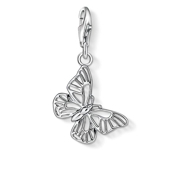 "ciondolo Charm ""farfalla"" from the  collection in the THOMAS SABO online store"