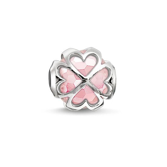"Bead ""pink cloverleaf"" from the Karma Beads collection in the THOMAS SABO online store"