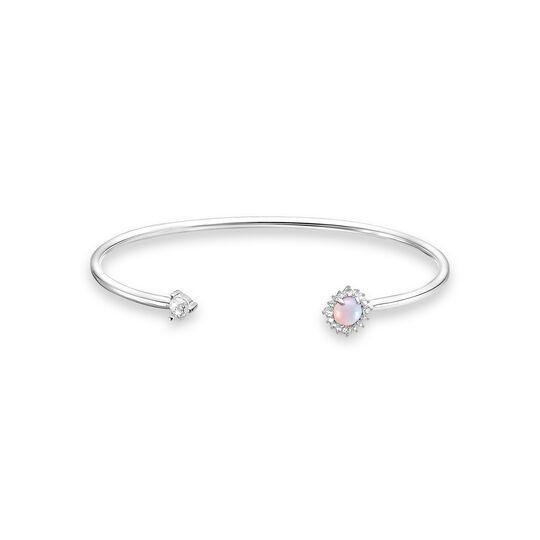 Bangle arrow opal-coloured stone from the Charming Collection collection in the THOMAS SABO online store