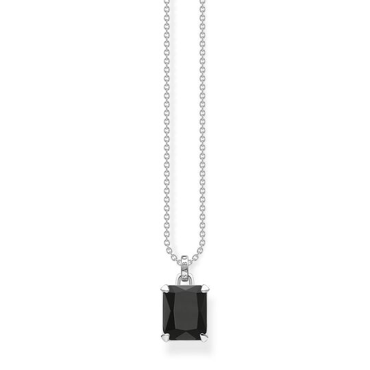 Necklace black stone from the  collection in the THOMAS SABO online store