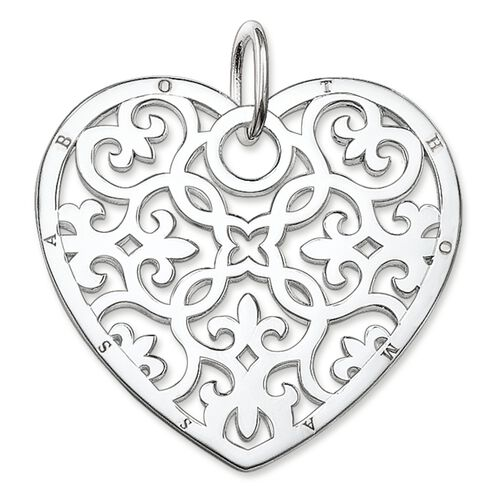 "pendant ""ornament heart"" from the Glam & Soul collection in the THOMAS SABO online store"