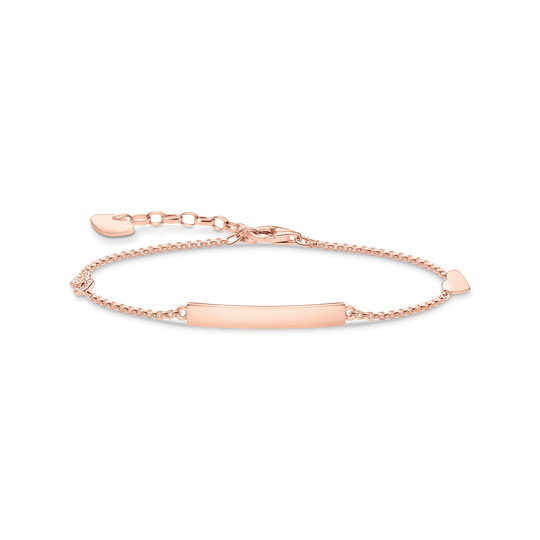 Bracelet classic with  heart & infinity rose gold from the Glam & Soul collection in the THOMAS SABO online store