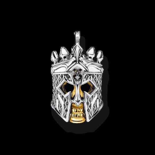 Pendentif tête de mort chevalier de la collection Rebel at heart dans la boutique en ligne de THOMAS SABO