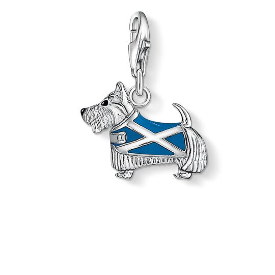 Charm pendant dog Scotland from the  collection in the THOMAS SABO online store