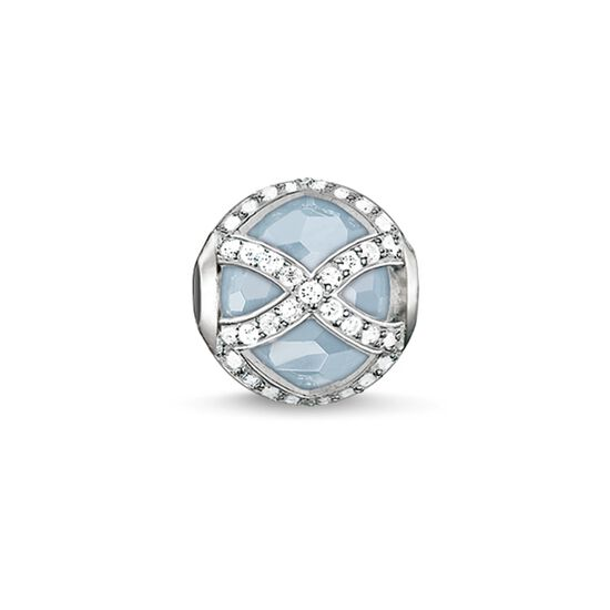 "Bead ""light-blue Maharani"" from the Karma Beads collection in the THOMAS SABO online store"