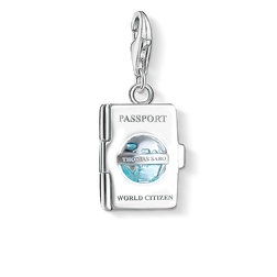Charm pendant passport from the Charm Club Collection collection in the THOMAS SABO online store