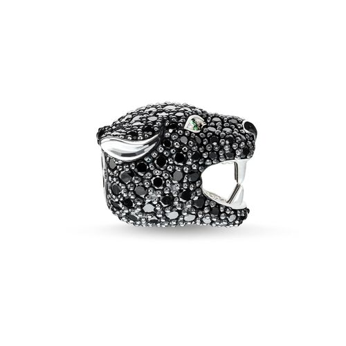 """Bead """"Black Cat"""" from the Karma Beads collection in the THOMAS SABO online store"""
