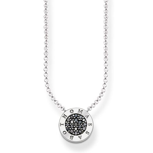"necklace ""black Classic pavé"" from the Glam & Soul collection in the THOMAS SABO online store"